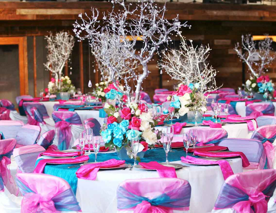 Bergen linen party linen rentals bergen county nyc for Adult birthday decoration