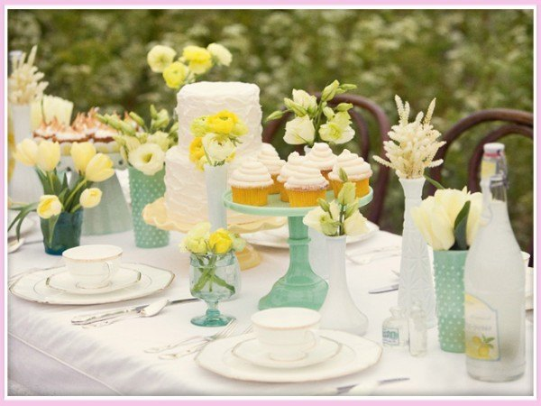 spring wedding, spring, yellow wedding, green wedding