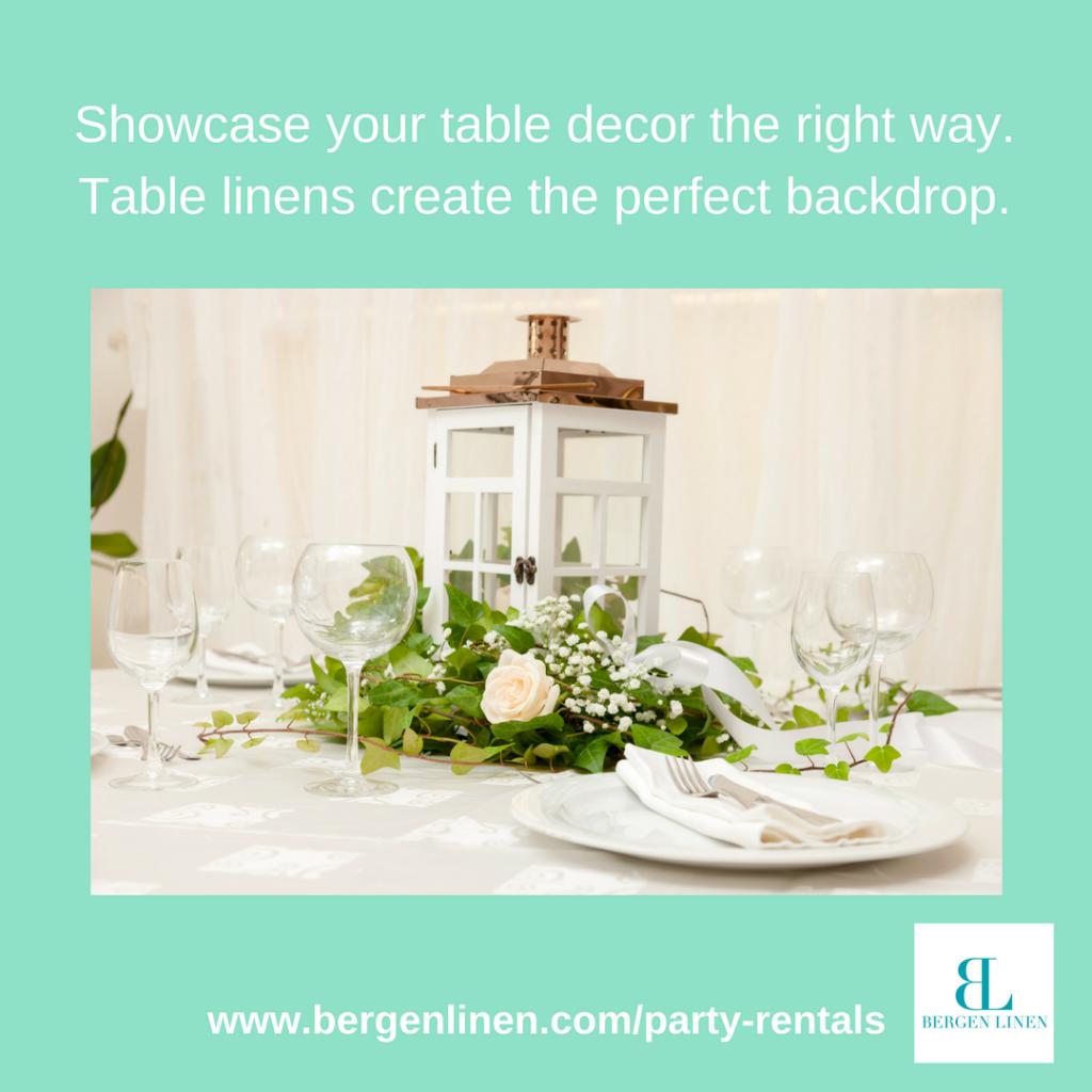 party table decor, table decor, centerpiece