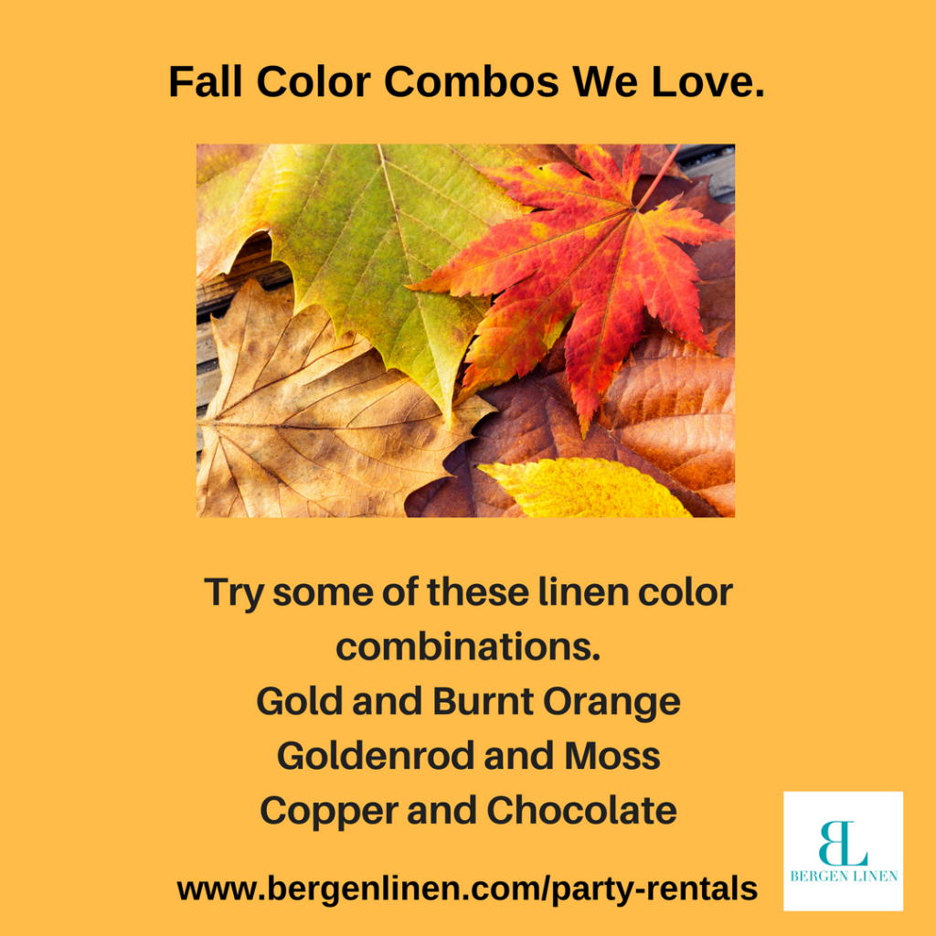 fall part, fall event, party combination, fall party colors