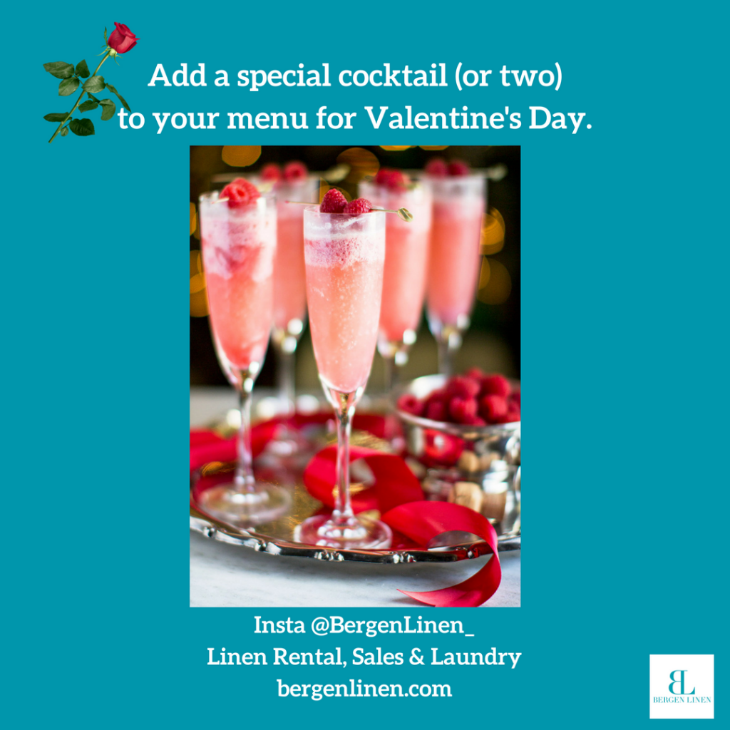 Valentine's Day, Valentine's Day cocktail, valentine's day menu