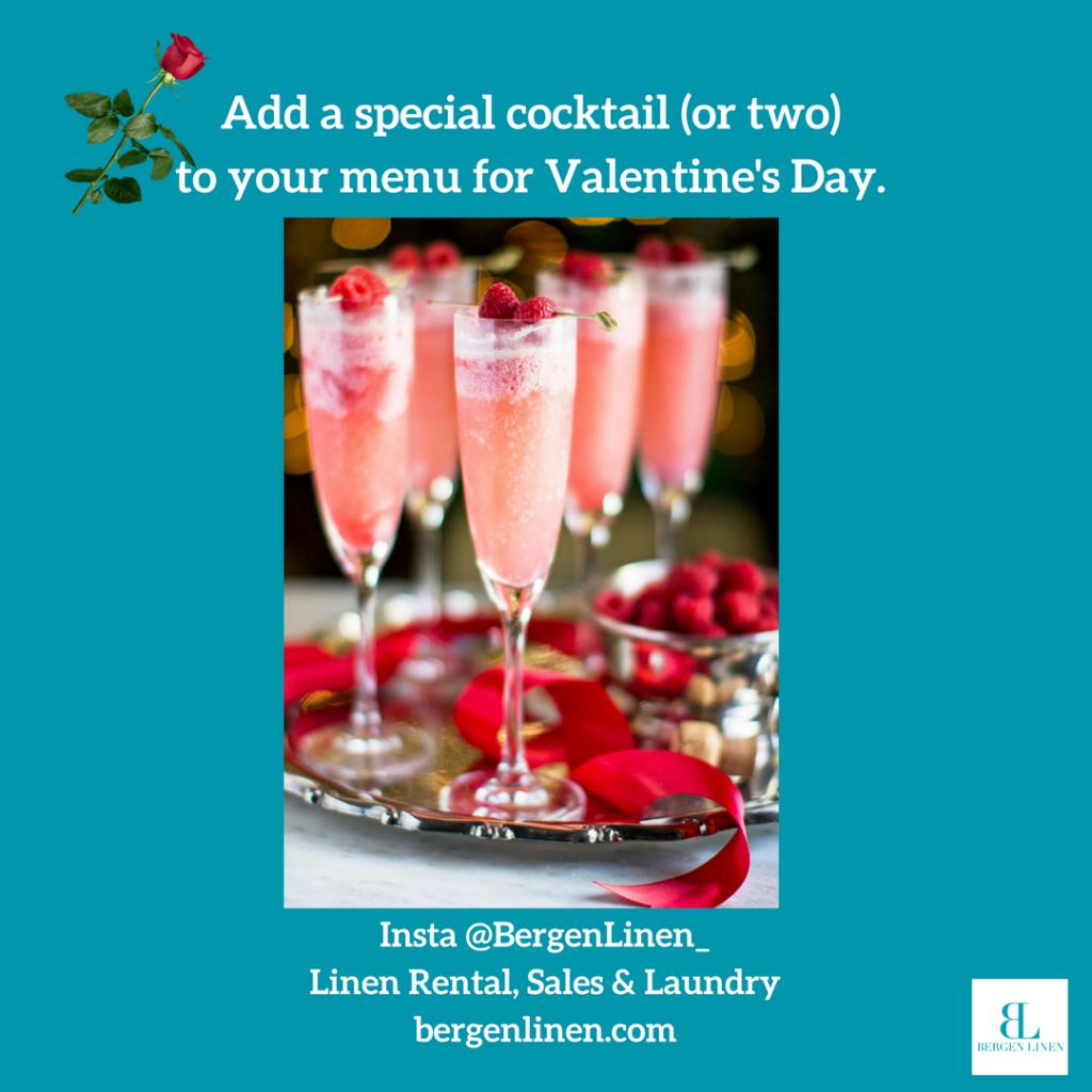Valentine's Day, Valentine's Day cocktail, valentine's day menu