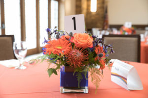 Fall 2019 Wedding Orange Table