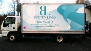 Bergen Linen Box Truck.